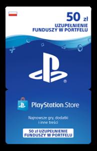 Karta przedpłacona PlayStation Network 50 zł