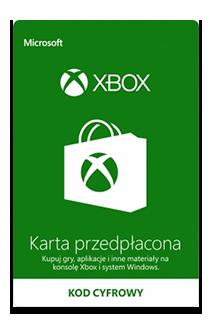 Karty przedpłacone Xbox