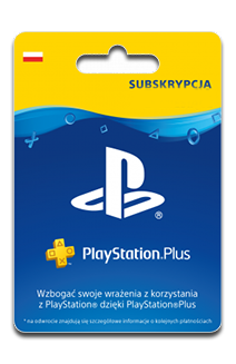 Karta Subskrypcji PlayStation Plus