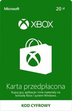 Karta przedpłacona Xbox Live 20zł