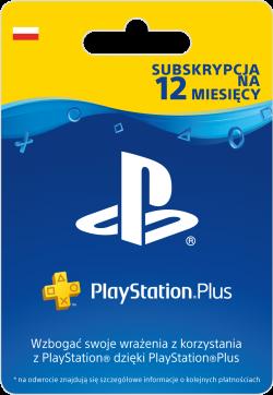 Sony PlayStation Plus – Subskrypcja na 12 miesięcy
