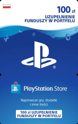 Sony PlayStation Network Store – 100 zł