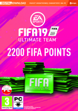 FIFA 19: Ultimate Team 2200 Points PC - Origin