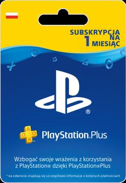 Sony PlayStation Plus - Subskrypcja na 1 miesiąc